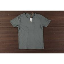 New Size M Nudie Jeans Co Ove Patched Tee Green T Shirt RRP £49
