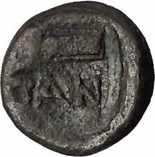 Pantikapaion in Tauric Chersonesos 3rdCentBC RARE Ancient Greek Coin BOW  i50244