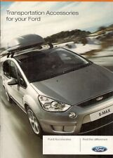 FORD trasporto ACCESSORI 2007 UK opuscolo FUSION FOCUS C-MAX S-MAX GALAXY