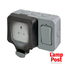 BG WP21ES - 1 Outdoor 1 Gang 13A Socket With External Switch