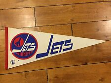 1970 S WINNIPEG JETS ORIGINAL WHA HOCKEY FULL-SIZE DEFUNCT TEAM PENNANT