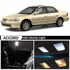 12x White Interior LED Lights Package for 1998-2002 Honda Accord Sedan + TOOL