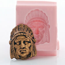 Southwestern Silicone Mold Jewelry Cabochon Polymer Clay Food Safe (950)