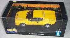 DeTOMASO PANTERA YELLOW BY HOT WHEELS 1:18 NEW IN BOX VERY OLD RELEASE