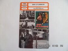 CARTE FICHE CINEMA 1955 BOB LE FLAMBEUR Isabelle Corey Roger Duchesne D.Cauchy
