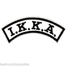 IKKA Dome Shoulder Patch Kenpo Patch
