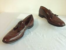 Church's Custom Grade Slip-On Tassle Shoes Brown Leather Size 11.5B