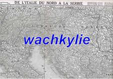 L'illustration n°3772 19/06/1915 Adriatique Franchey d'Esperey Lorette Touvent