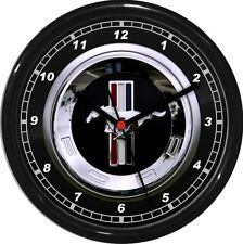 "mustang Wall Clock 10"" Garage Work Shop Gift  Father's Day Man Cave"