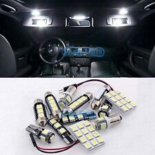 White 23 Pieces Error Free Light LED Interior kit Package For BMW X5 E70 07-2014