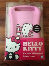 NEW Hello Kitty Tabeo Tablet Case - Kid Safe Rubberized Case - Pink