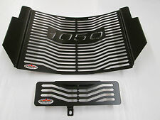 1050 Speed Triple (11-16) Black Radiator & Oil Cooler Protector, Cover, Grill  L