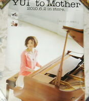 YUI to Mother 2010 Japan Promo Poster  Very RARE!!