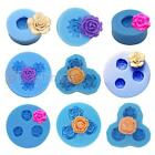 Rose Flower Silicone Mold For Polymer Clay Chocolate Crafts Jewelry Fimo Resin