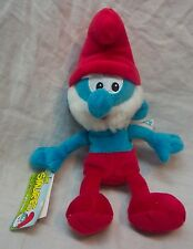 "The Smurfs SOFT PAPA SMURF 8"" Plush STUFFED ANIMAL Toy NEW w/ TAG"