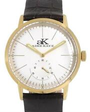 ADEE KAYE AK9044-MBK MECHANICAL YELLOW CASE AUTOMATIC MEN WATCH. BRAND NEW