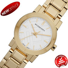 Burberry Heritage Swiss Analog Gold Plated Stainless Steel Women's Watch BU9203