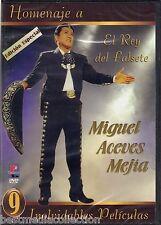 Homenaje A Miguel Aceves Mejia DVD NEW 9 Peliculas El Rey Del Falsete BRAND NEW