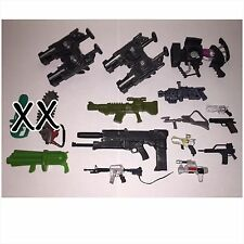 Lot of 14 Random Assorted Guns, Weapons For Custom Action Figures