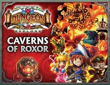 Super Dungeon Explore: PRESALE Caverns of Roxor 2nd edition expansion New