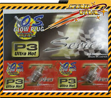 OS O.S Engine P3 Glow Plug 12 pcs ( HOBAO Hyper HONG NOR JAMMIN Z-Car LRP SH)