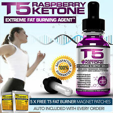T5 RASPBERRY KETONE SERUM: STRONGEST LEGAL SLIMMING / DIET / WEIGHT LOSS & DETOX