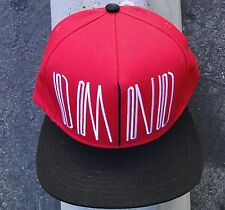 Diamond supply co. Skateboard Uktred Red/Black Mens hat Snapback
