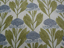Harlequin Curtain Fabric 'Protea' 1.5 METRES Harbour Grey/Linden  Linen Blend