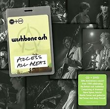 WISHBONE ASH - ACCESS ALL AREAS  CD+DVD NEW+