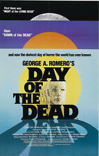 24X36Inch Art DAY OF THE DEAD Movie Poster Horror Zombie 2 George Romero P44