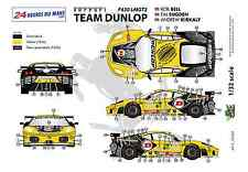 "[FFSMC Productions] Decals 1/32 Ferrari F-430 LMGT2 ""Team Dunlop"" (LM 2009)"