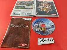 Pandora's Tower [Complete CIB] (Nintendo Wii) Tested & Working