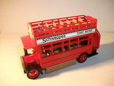 Matchbox - Models of Yesteryear  Y- 23 A.E.C.S Type Bus 1922