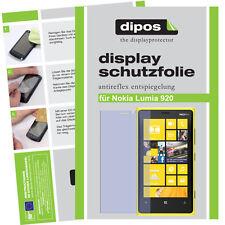 2x Nokia Lumia 920 Schutzfolie matt Displayschutzfolie Antireflex