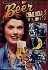 BRAND NEW DVD // BEER COMMERCIALS OF THE 50's & 60's // CLASSIC TELEVISION