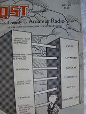 QST Amateur Radio Official Journal ARRL Magazine Vintage Issue July 1975 Ham