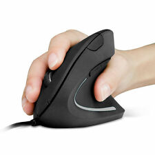 Anker Wired Vertical Ergonomic Shark Fin Style 1600DPI Optical Mouse