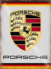 Classic Car Badge Logo Sports Car German Motor Racing Old Novelty Fridge Magnet