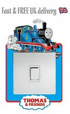 THOMAS THE TANK ENGINE STICKER LIGHT SWITCH SURROUND WALL STICKER DECAL - S2