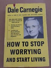 How to Stop Worrying and Start Living by Dale Carnegie Signed First Printing