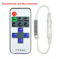 Inline RF Remote Controler Dimmer for single color 5050 5630 LED Strip Light
