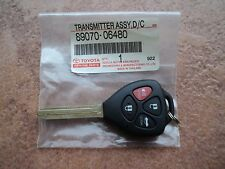 TOYOTA AURION CAMRY 2012-2016 GENUINE 4 BUTTONS REMOTE IMMOBILIZER KEY