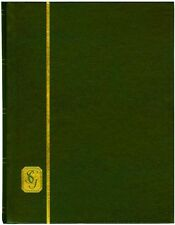 Stanley Gibbons 32-Black Page (16 double-sided pages) Stockbook  GREEN