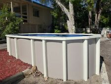 ABOVE GROUND POOL PACKAGE 8.2m x 4.5m  SALT - FREE AUTOCLEANER+COVER - AUST MADE