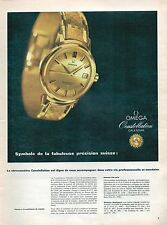 ▬► PUBLICITE ADVERTISING AD MONTRE WATCH OMEGA Constellation Calendar 1959 (b)