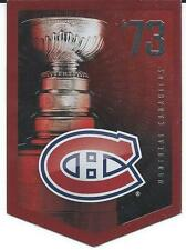 NHL Panini 2012 Coors Light Stanley Cup Collection Montreal Canadiens 1973