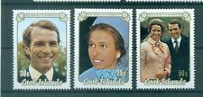 PERSONNAGES - ROYAL WEDDING Princess Anna COOK ISLANDS 1973 set