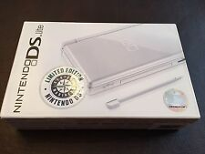 Brand New Nintendo DS Lite Game Console - Polar White Limited Edition Sealed Box