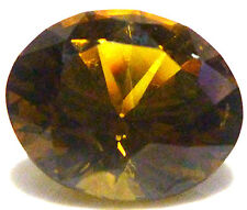 5.14CT OVAL BRILLIANT CUT NATURAL HESSONITE GROSSULARITE  GARNET ORANGE YELLOW