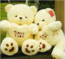 Giant Hung Plush love Teddy Bear 70cm Stuffed Animals Cute BABY Birthday Gift